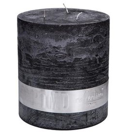 PTMD Rustic Charcoal Black Kaars 16x18 cm