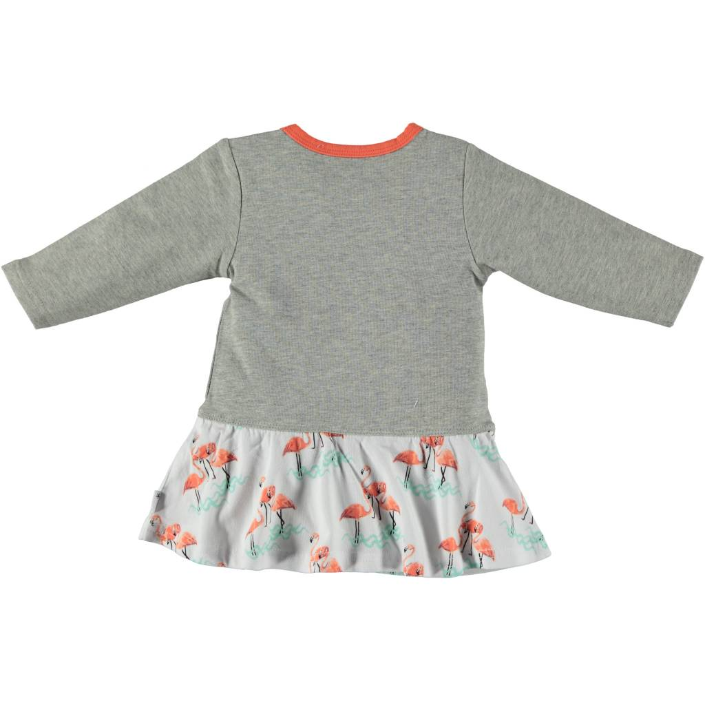 BESS Dress AOP Flamingo