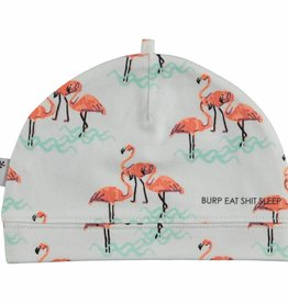 BESS Hat Girls AOP Flamingo