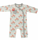 BESS Suit Girls AOP Flamingo