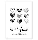 Jots Kaart A5 With Love