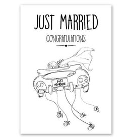 Jots Kaart A5 Just Married