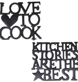 Bastion Collections Pannen Onderzetter Love 2 Cook