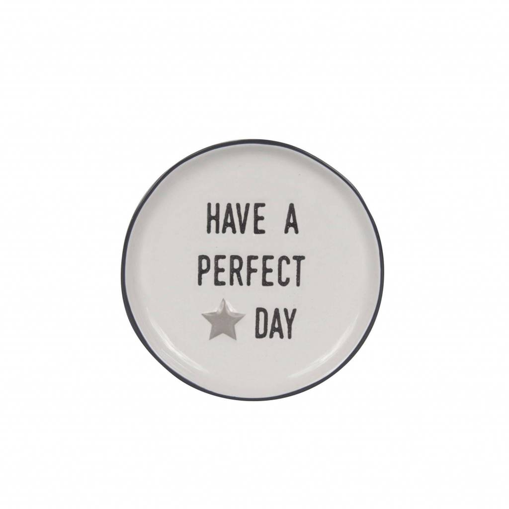 Bastion Collections Theeschoteltje Have A Perfect Day