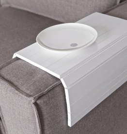 Be Pure Home Armleuning XL Flexibel Dienblad Wit
