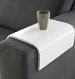 Be Pure Home Armleuning XL Flexibel Dienblad Wit