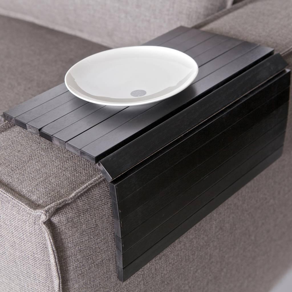 Be Pure Home Armleuning XL Flexibel Dienblad Zwart