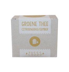Zusss Groene Thee Citroengras/Gember