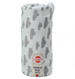 Lodger Hydrofiele Doek Grey