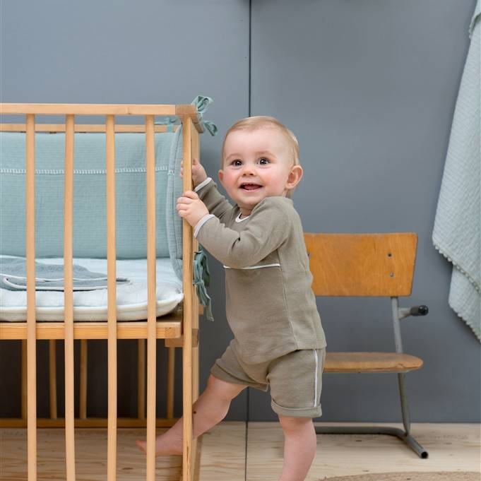 Koeka Baby Short Fiji Soft Grey