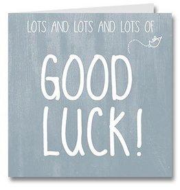 Jots Kaart Good Luck!