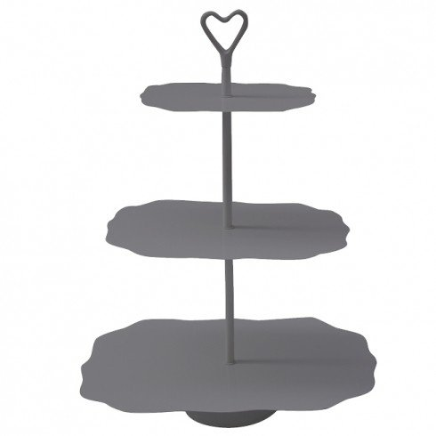 Bastion Collections Etagere 3 Laags Grijs