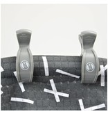 Lodger Swaddle Clips 2-Pack Carbon