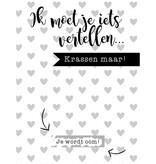 Mama Kaart Kraskaart Je Wordt Oom
