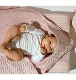 Baby Anne-Cy Badcape Vlinderkabel Donkergrijs