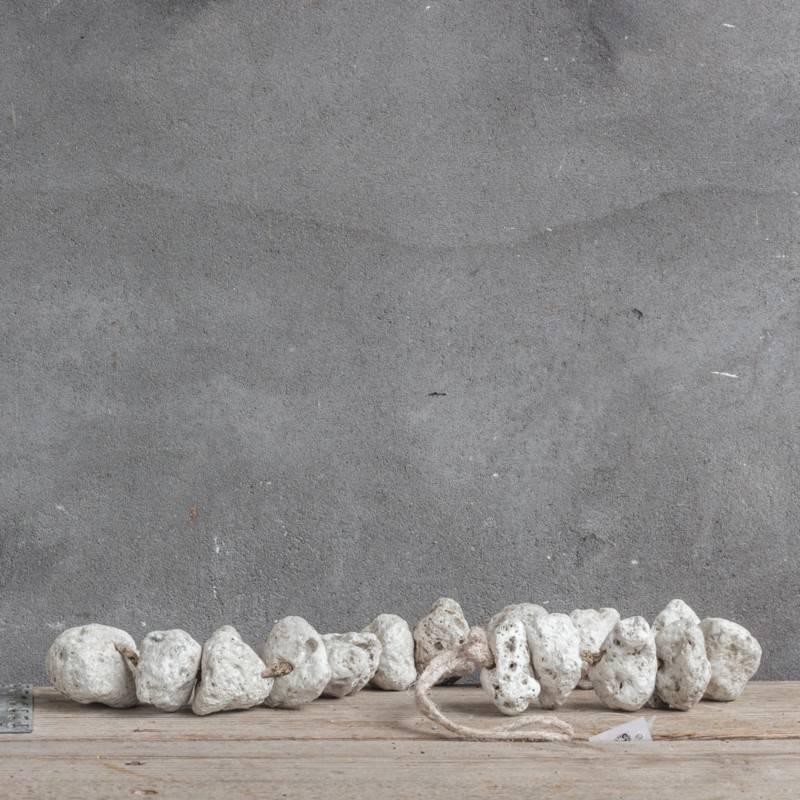 Kolony Stone Guirlande Wit