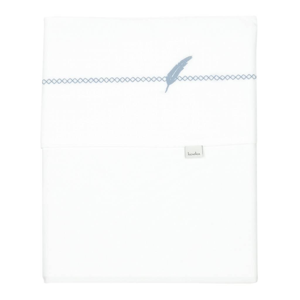 Koeka Wieglaken Veer Soft Blue