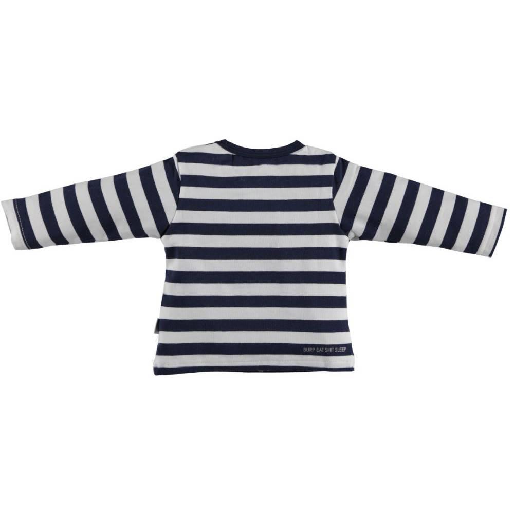 BESS Shirt Boy Bonjour Striped