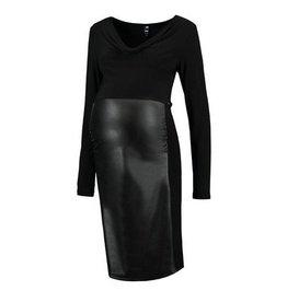 Love2Wait Dress PU Zwart
