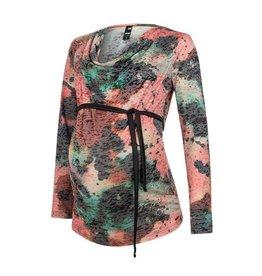 Love2Wait Shirt Sl Nursing AOP Waterfall Mt. XL