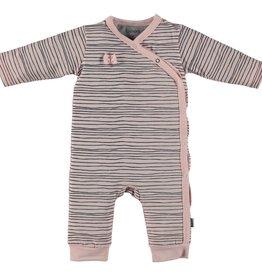 BESS Suit Girls Stripe Pink