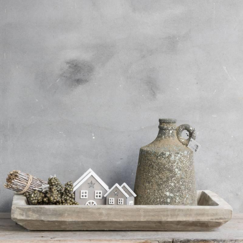 Kolony Houten Huis Met waxine Groot
