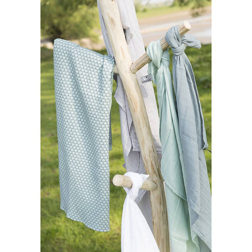 Baby's Only Swaddle 60x70cm Stonegreen 2-Pack