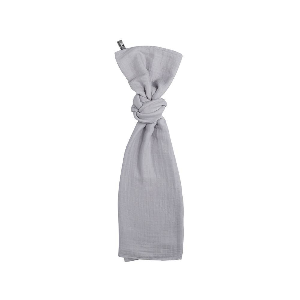 Baby's Only Swaddle 120x120cm Zilvergrijs