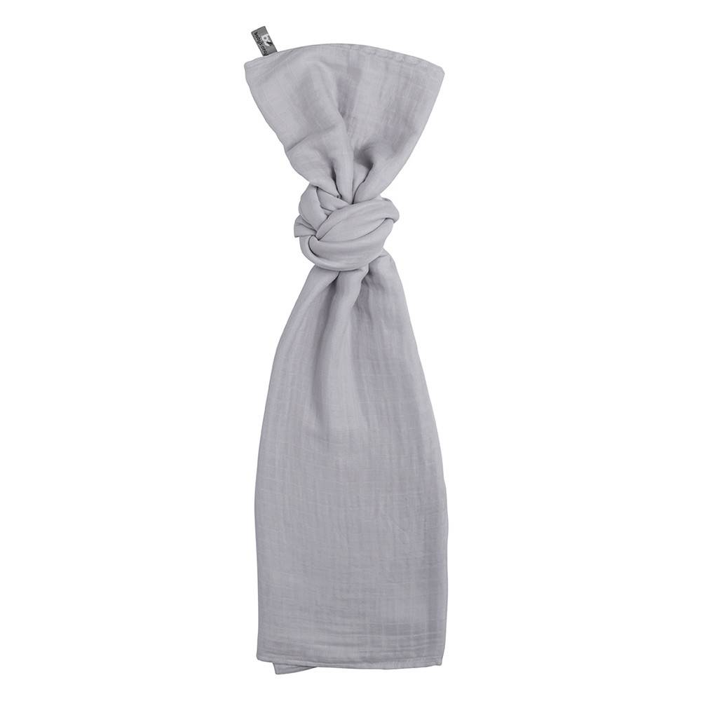 Baby's Only Swaddle 200x120cm Zilvergrijs