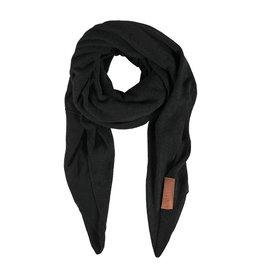 Zusss Grote Stoere Sjaal Zwart