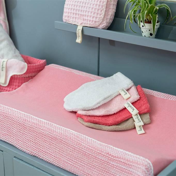 Koeka Washand Rome Baby Pink