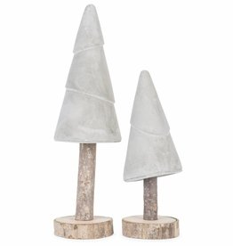 It's About Romi Kerstboom Cement Op Houten Stok S