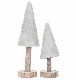 It's About Romi Kerstboom Cement Op Houten Stok L