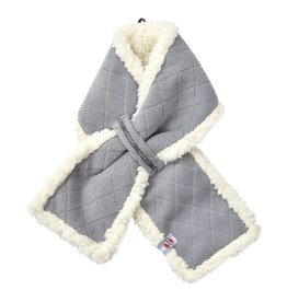 Lodger Sjaal Fleece Greige