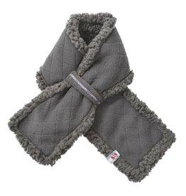 Lodger Sjaal Fleece Coal