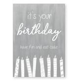 Jots Kaart A6 It's Your Birthday