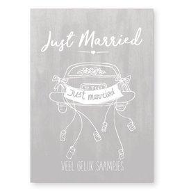 Jots Kaart A6 Just Married