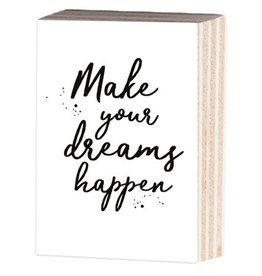 Jots Fotoblok A6 Make Your Dreams Happen
