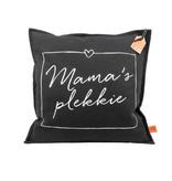 100% Leuk Kussen Mama's Plekkie Antraciet