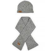 Jollein Muts Stonewashed Knit Grey
