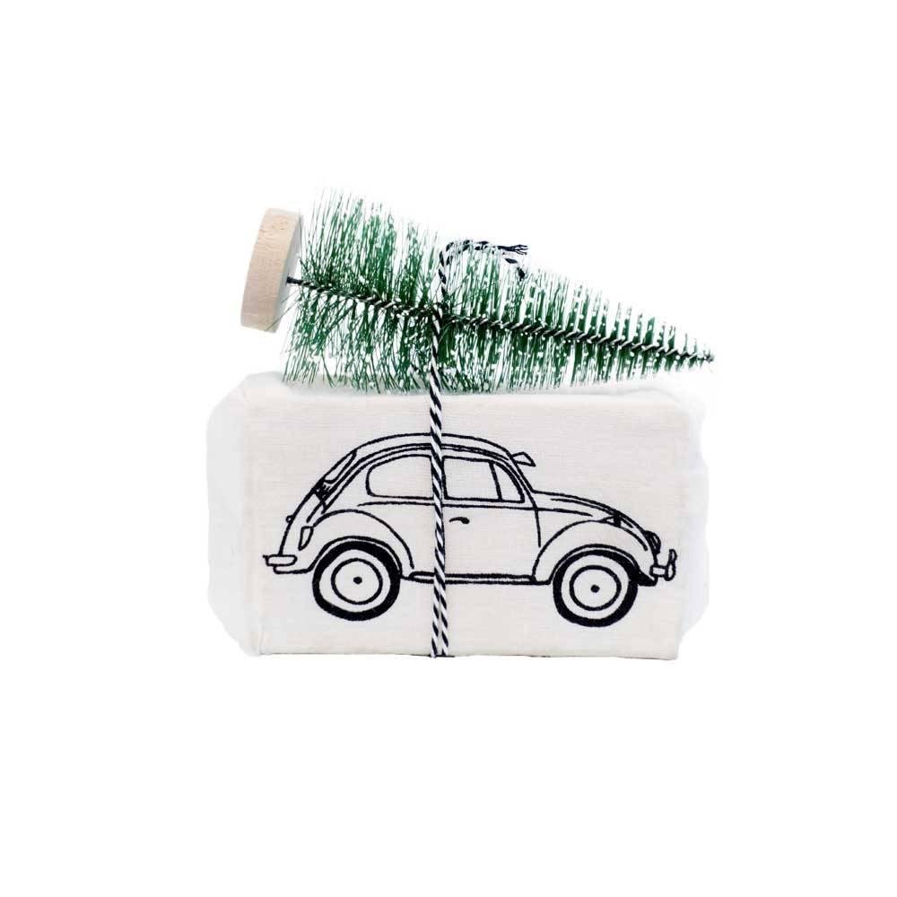 100% Leuk Kerstzeep auto