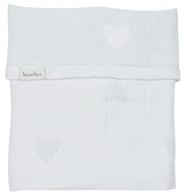 Koeka Ledikantdeken Altea Hearts Soft Mint