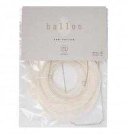 Zusss Ballon Van Papier M
