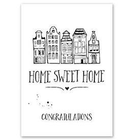 Jots Kaart A5 Home Sweet Home