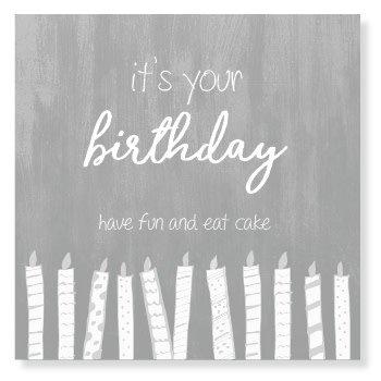 Jots Kaart It's Your Birthday, Eat Cake