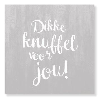 Fabulous Kaart Dikke Knuffel Voor Jou! - De dochter van Mies &DZ77