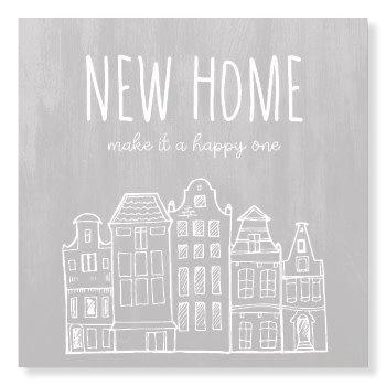 Jots Kaart New Home Make It A Happy One