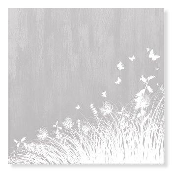 Jots Kaart Gras/Vlinders