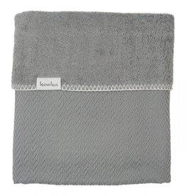 Koeka Ledikantdeken Stockholm Steel Grey