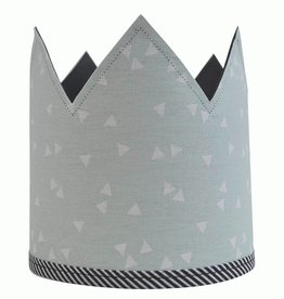 Krijtbordkroon Mint Triangle